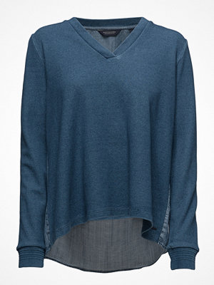 Maison Scotch Soft Sweat With Denim Back Panel