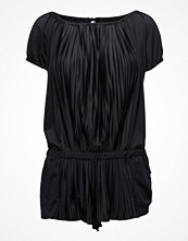 Sunseeker Pleated Off-Shoulder Jumpsuit