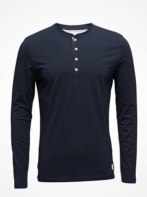 Selected Homme Shhniklas Ls Split Neck Noos