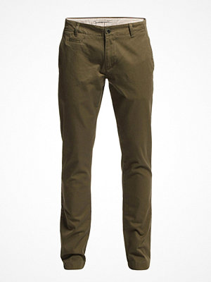 Knowledge Cotton Apparel Twisted Twill Chinos