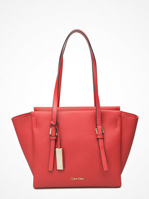 Calvin Klein röd shopper M4rissa Medium Tote,
