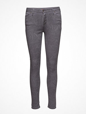 Please Jeans Catwoman Grey Paisley