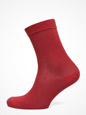 Strumpor - Topeco Ladies Sock Plain, Red