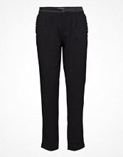 Byxor - Maison Scotch Chic Tailored Pant With Tuxedo Inspired