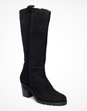 Bianco Long Suede Boot Jja16
