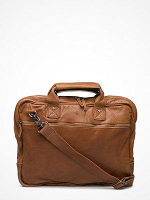 Adax beige datorväska Bremen Working Bag Peter
