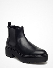 Mango Elastic Panels Ankle Boot