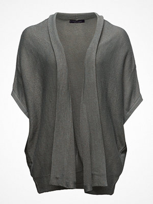 Violeta by Mango Flecked Fine-Knit Cardigan