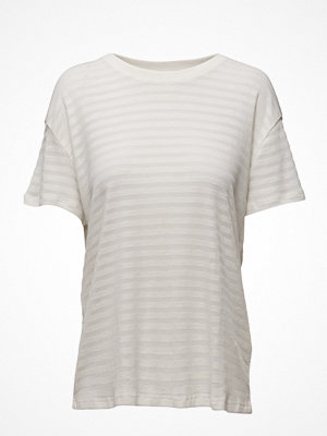 Lee Jeans Sheer Stripe Tee Bleached Sand