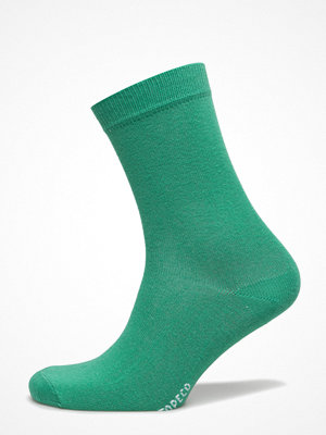 Strumpor - Topeco Ladies Sock Plain, Green