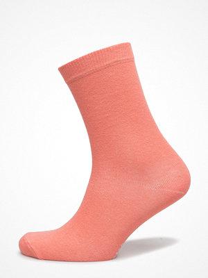 Strumpor - Topeco Ladies Sock Plain, Persimon