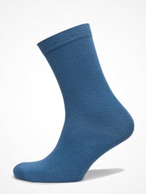 Strumpor - Topeco Ladies Sock Plain, Jeans Blue