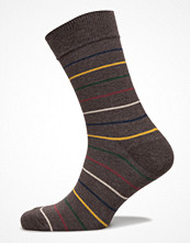 Strumpor - Topeco Mens Sock SkÄGgve, Dark-Brown