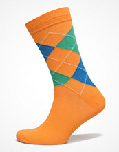 Strumpor - Topeco Mens Socks Argyle, Orange