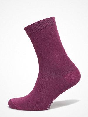 Strumpor - Topeco Ladies Sock Plain, Redlilac