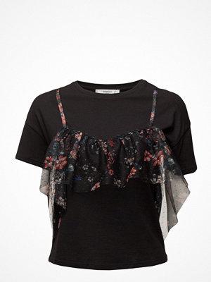 Mango Double-Layer Cotton T-Shirt