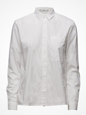 Mango Embroidered Cotton Shirt