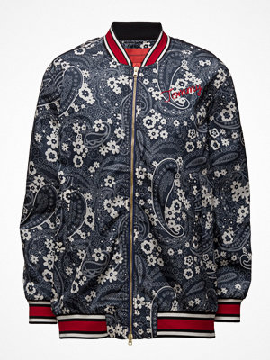 Hilfiger Collection mönstrad bomberjacka Oversized Bomber Jkt