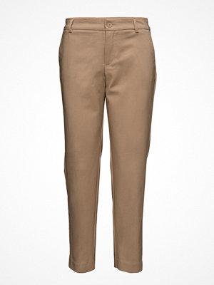 Mango Straight-Cut Crop Trousers