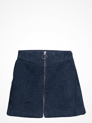 Kjolar - Mango Zipped Cotton Skirt