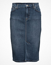Kjolar - Gant Denim Pencil Skirt