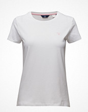 Gant Cotton/Elastane C-Neck T-Shirt Ss