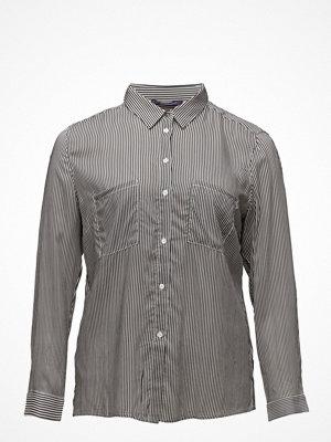 Violeta by Mango Pocket Striped Shirt