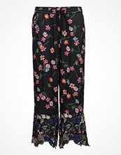 French Connection Botero Lace Mix Tie Waist Trouser
