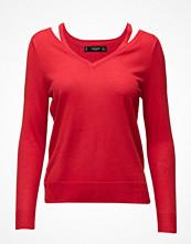 Mango Neck Cut-Out Sweater