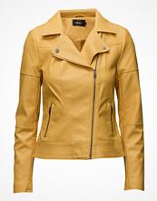 Only Onlcara Faux Leather Biker Jacket Cc Otw
