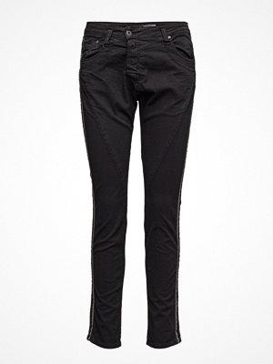 Please Jeans Fine Flap Stripe Side
