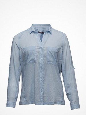 Violeta by Mango Ribbed Panel Shirt