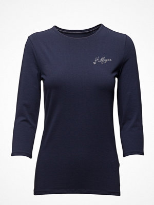 Tommy Hilfiger Lizzy C-Nk Top 3/4 Slv