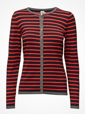 Cardigans - Saint Tropez Knit Cardigan With Stripes