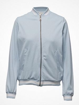 Lexington Clothing ljusgrå bomberjacka Charleze Track Jacket