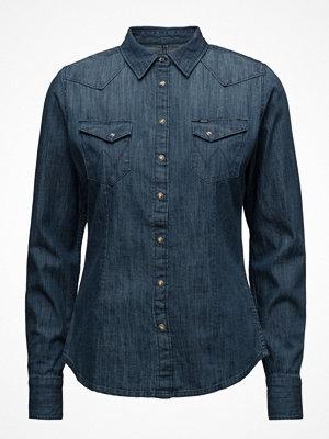 Wrangler Slim Western Shirt Bleach