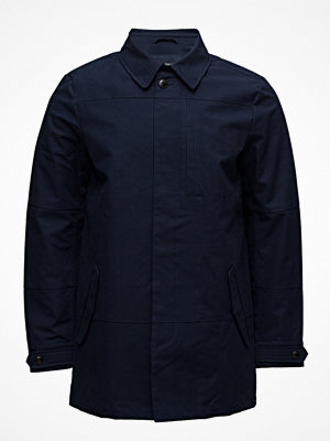 Trenchcoats - Scotch & Soda Ams Blauw Clean Trench Coat