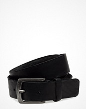 Bälten & skärp - Topeco Mens Belt Tumbled 35mm, Dark-Brown