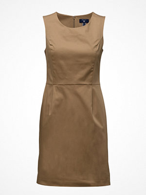 Gant O1. Sleeveless Satin Stretch Dress
