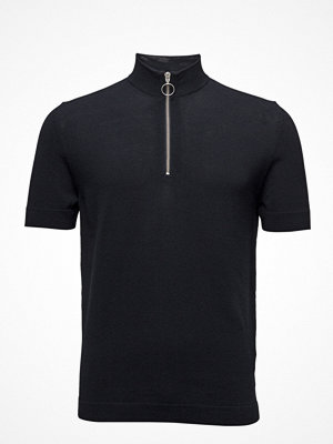 Samsøe & Samsøe Tatos T-N Zip Polo Ss 7576