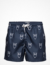 Badkläder - Knowledge Cotton Apparel Swim Shorts W/ Owl Print - Grs