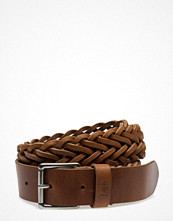Bälten & skärp - Lee Jeans Braided Belt Dark Cognac