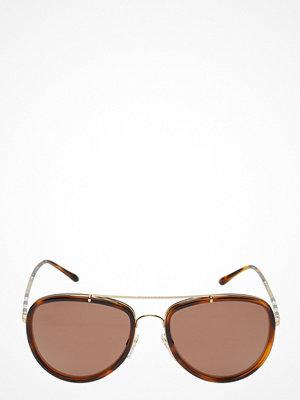 Solglasögon - Burberry Sunglasses Heritage   Leather Check