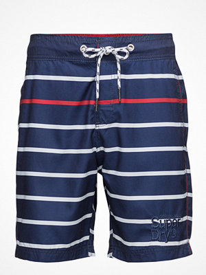 Badkläder - Superdry Vacation Stripe Swim Short