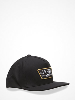 Kepsar - Vans Mn Full Patch Snapba Black-Tawny Oli