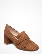 Pumps & klackskor - Mango Fringed Leather Loafers