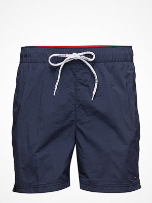 Badkläder - Hilfiger Denim Thdm Basic Solid Swimshort 11