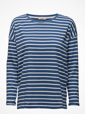 Lee Jeans Ls Stripe Tee Workwear Blue