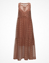 Rabens Saloner Gold Line Tank Dress
