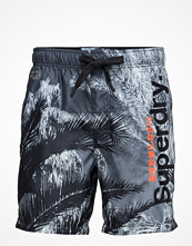 Badkläder - Superdry Premuim Neo Photo Swim Short
